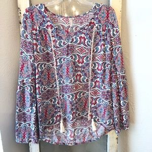 Red Camel Blouse size XS